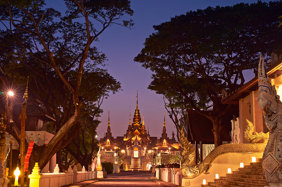 Magical time in Dhara Dhevi,Chiang Mai