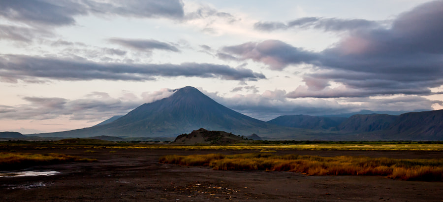Lake natron and Lengai volcano