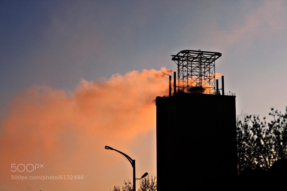 Photograph Factory Smoke by Alper . on 500px