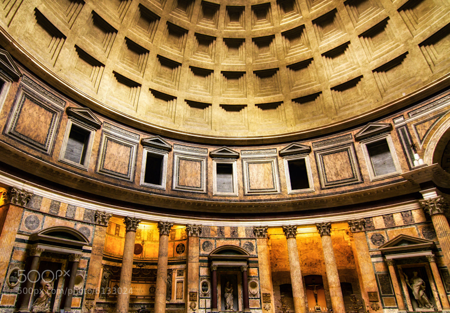 Photograph The Pantheon Interrior by David Edenfield on 500px