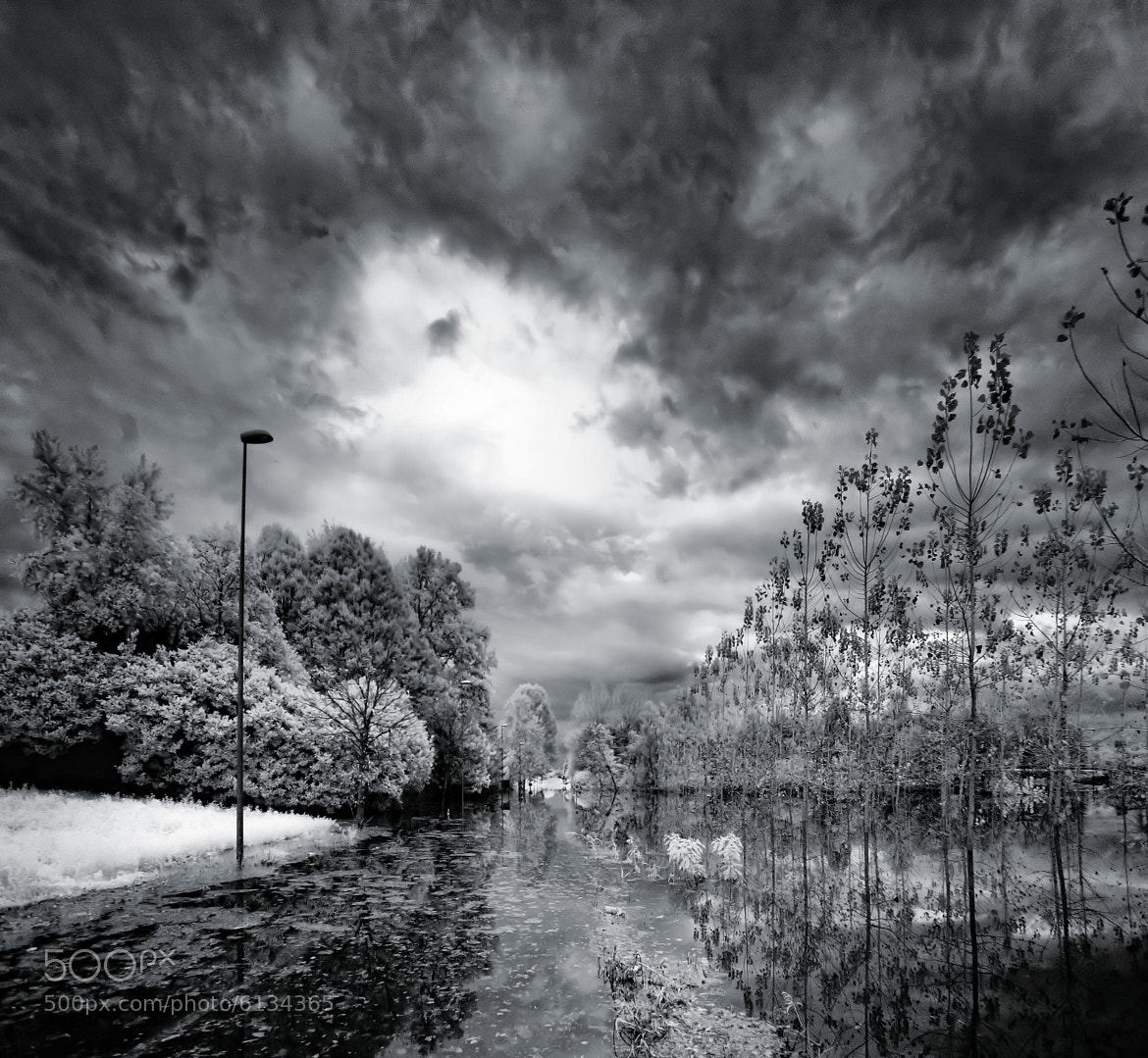 Photograph infrared storm by lorenzo savinelli on 500px