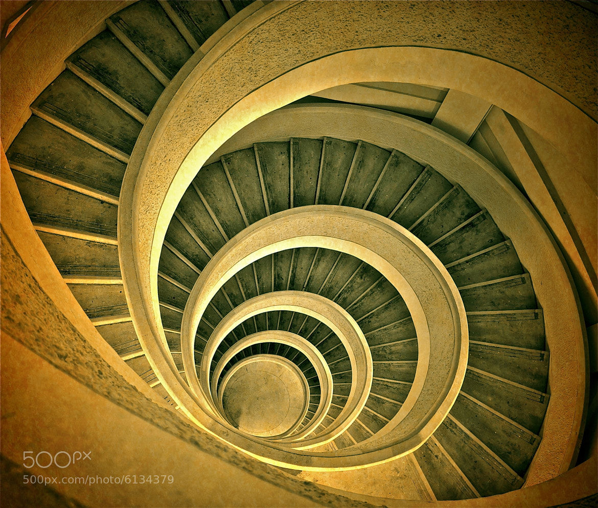 Photograph Spiral Stairs by Sim  Kim Seong on 500px