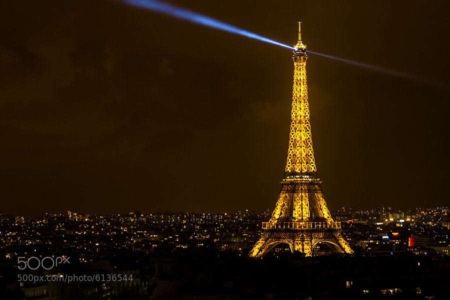 Photograph Eiffel Tower by Bernhard Minatti on 500px