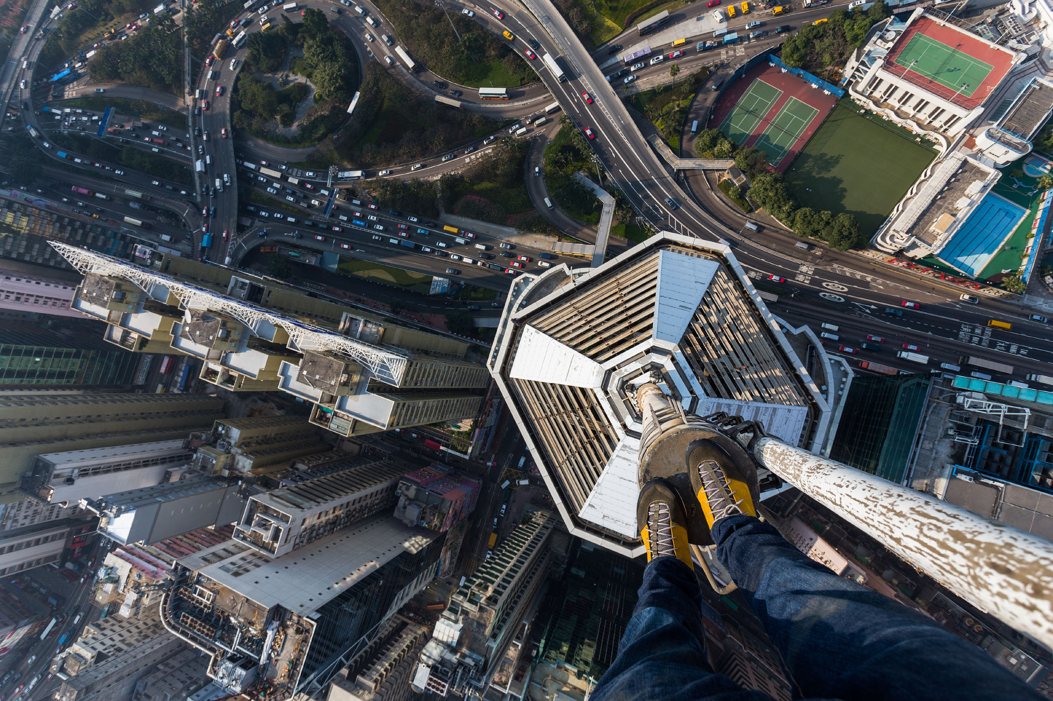 Photograph Fall down Hong-Kong by Vitaliy Raskalov on 500px