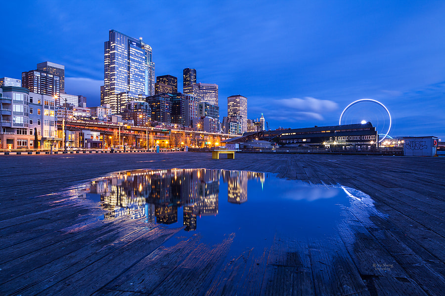 Seattle Downtown by Yu Sheng on 500px.com