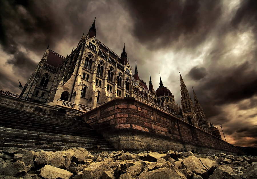 Photograph ghost palace by Adam Dobrovits on 500px