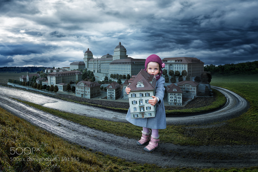Photograph Playing with the doll-university by John Wilhelm is a photoholic on 500px