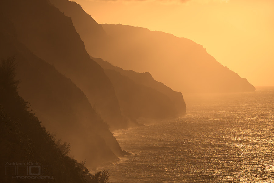 Photograph Napali Coast Orange by Adrian Klein on 500px