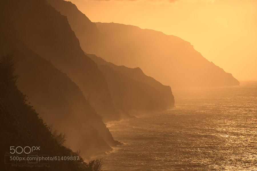 Photograph Napali Coast Orange by Adrian Klein on 500px