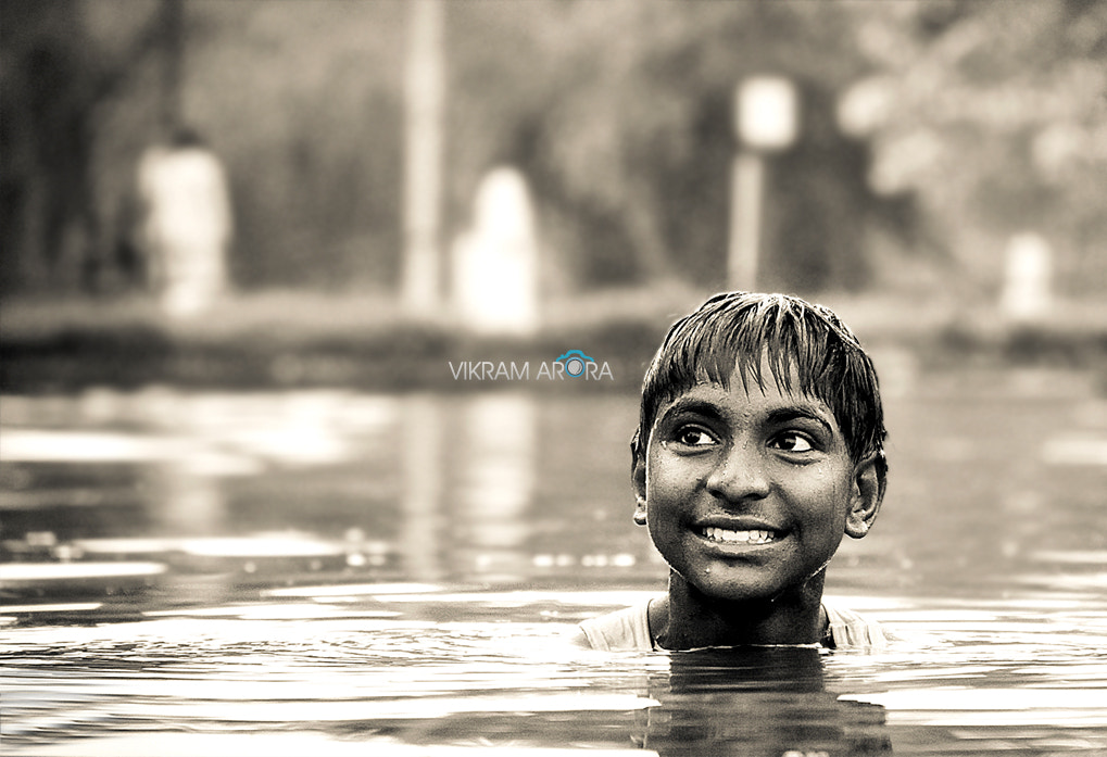 Photograph Enjoying the dip! by Vikram Arora on 500px