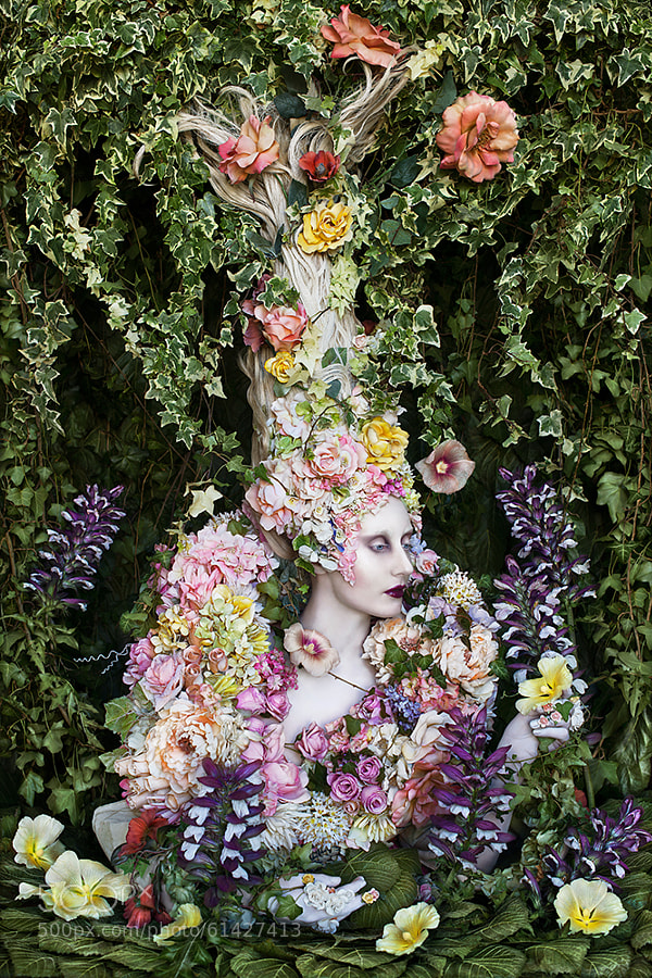 Photograph The Secret Locked In The Roots Of A Kingdom by Kirsty Mitchell on 500px