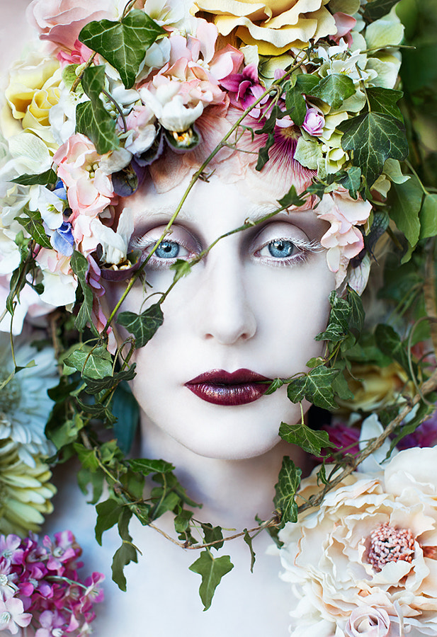 The Pure Blood Of A Blossom by Kirsty Mitchell on 500px.com