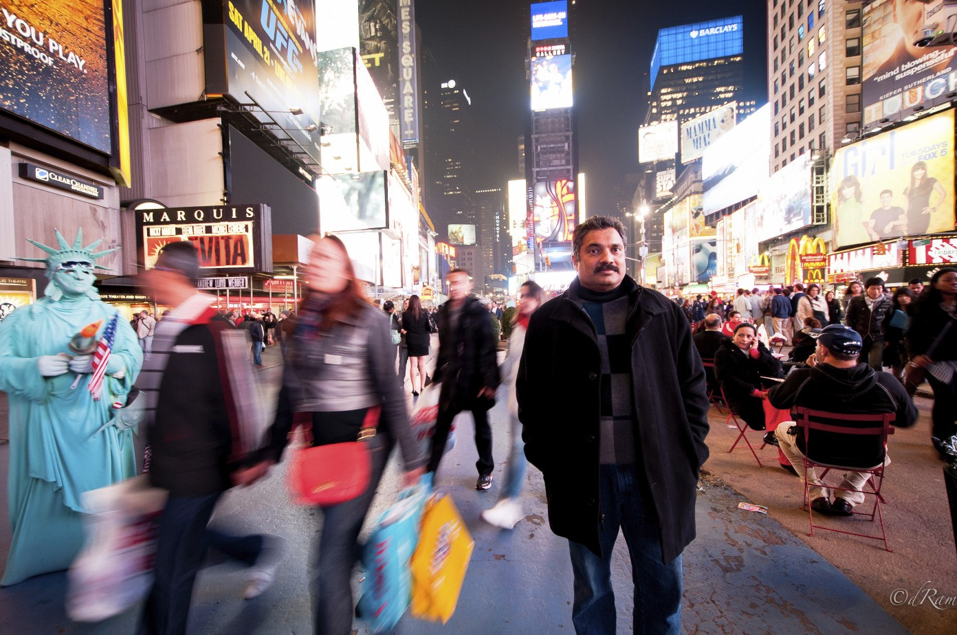 Photograph Times Square by Dilip Ram on 500px