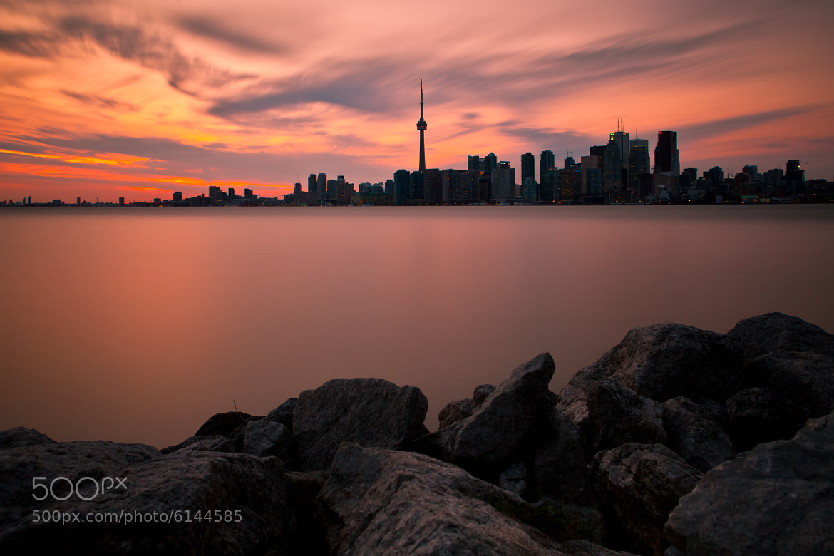 Photograph Toronto at Sunset by Rich Williams on 500px