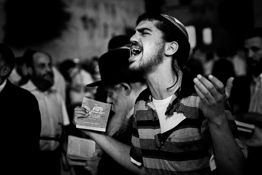 Photograph Western Wall Prayer by Pini Hamou on 500px
