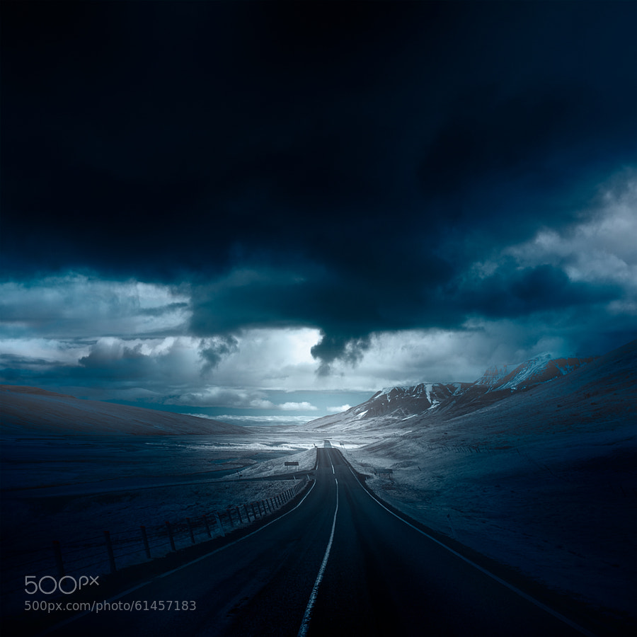 Photograph ? into the blue by Andy Lee on 500px