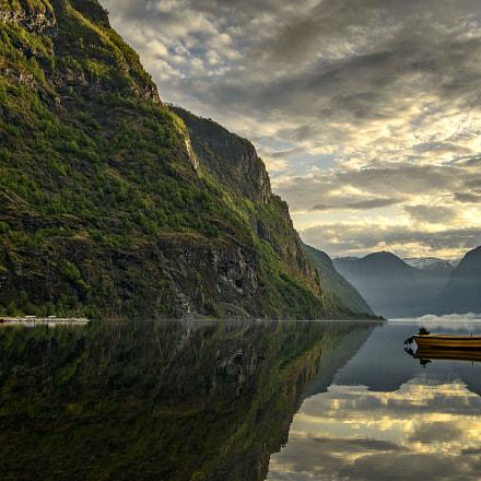 Flåm Reflections in Norway