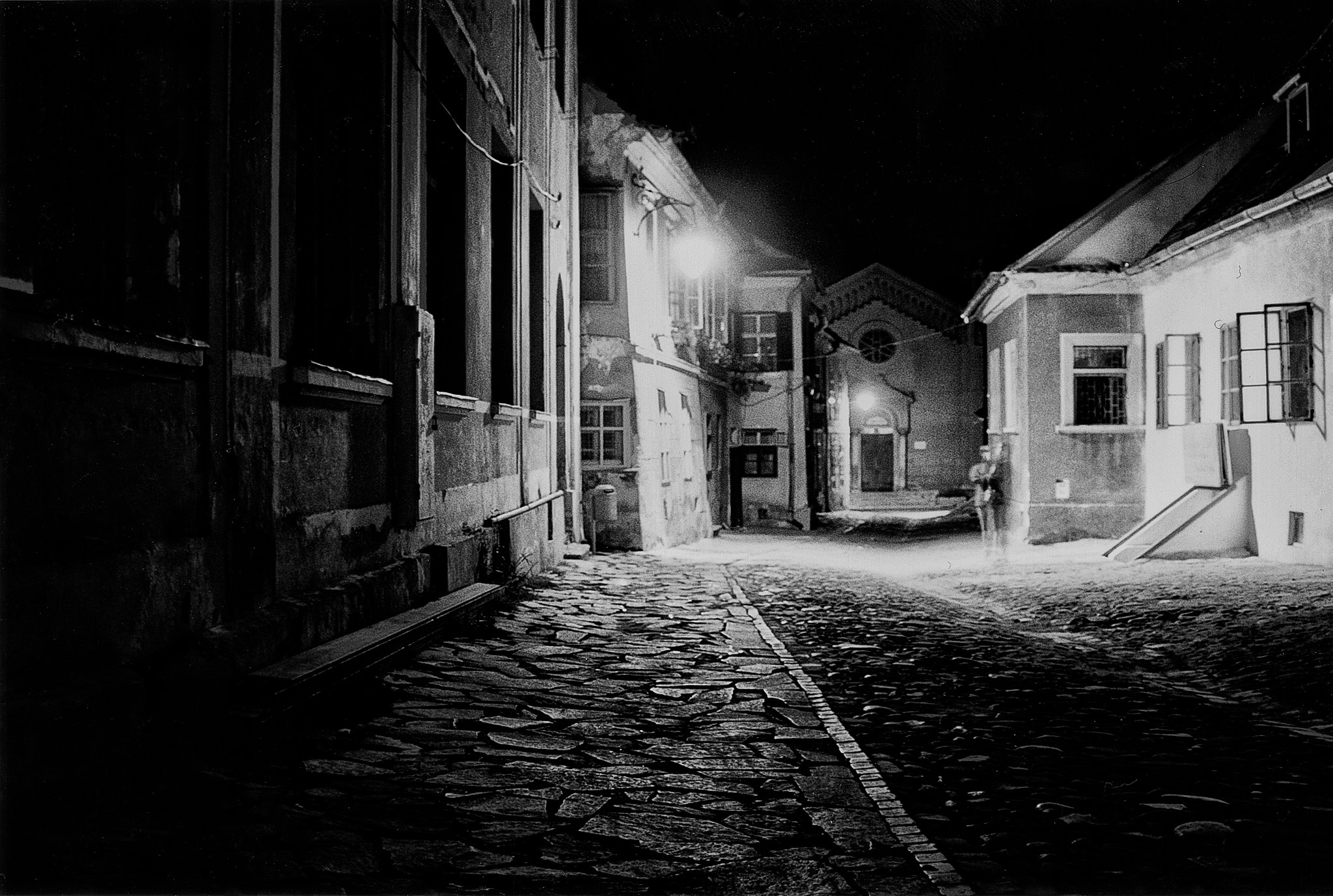 Photograph Phantom in the old city (Sighisoara 2001) by Mihai Ilie on 500px