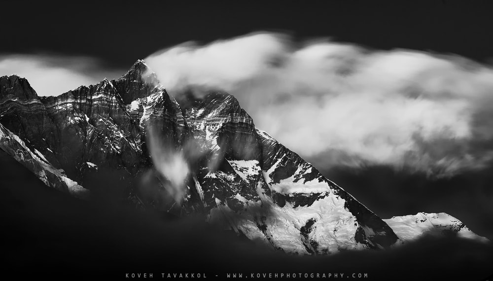 Photograph Lhotse (27940 ft) by Koveh Tavakkol on 500px