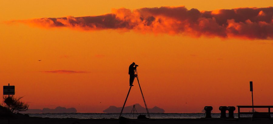 Photograph Getting the shot by Richard Wilson on 500px