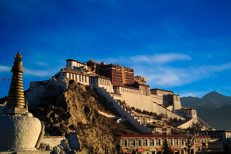 Photograph Dawn of Potala Palace in Tibet by Haiwei Hu on 500px
