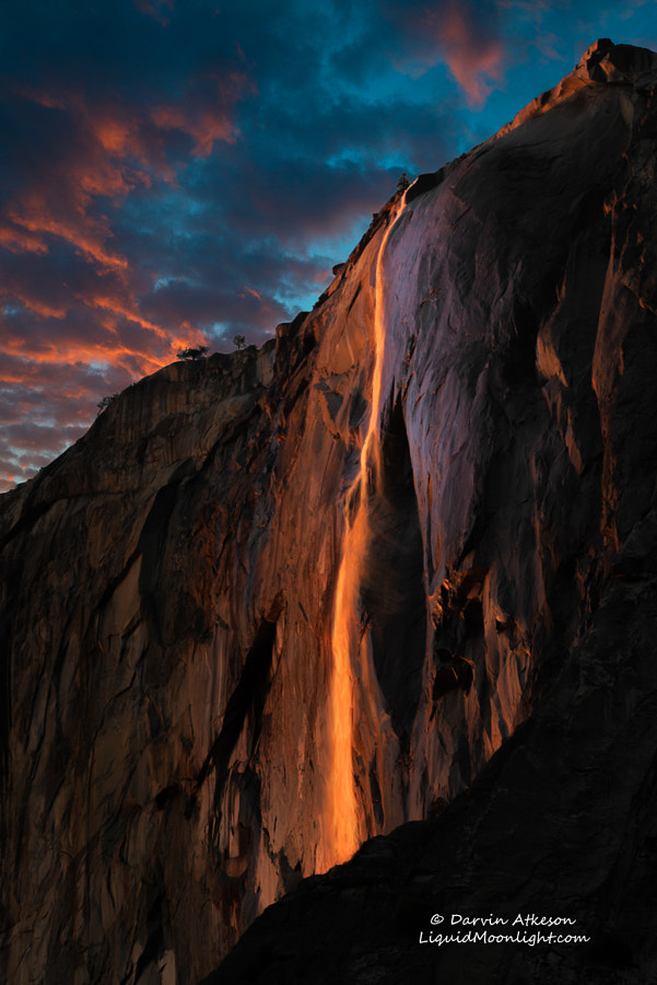 Horsetail Fall - Yosemite National Park by Darvin Atkeson on 500px.com