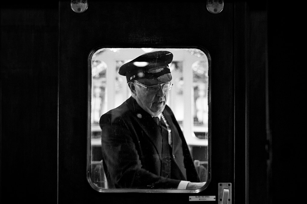 Photograph the ticket inspector by David Mar Quinto on 500px