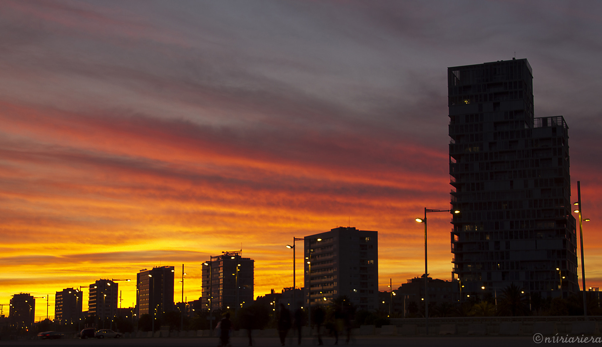 Photograph Sunset in BCN by Núria Riera on 500px