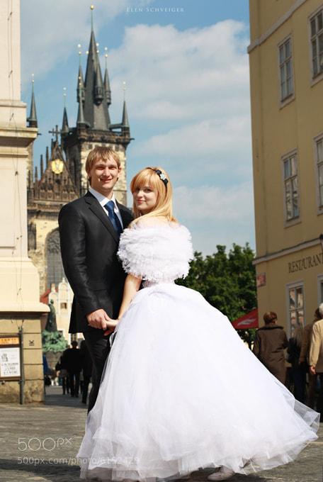 Photograph wedding in Prague by Elen Schveiger on 500px