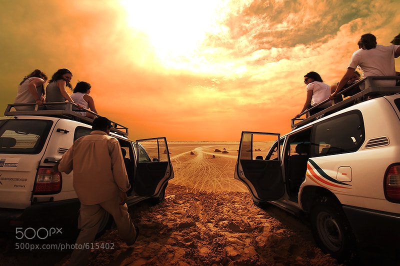 Photograph Sit on the 4x4 by Siriwit Pewon on 500px