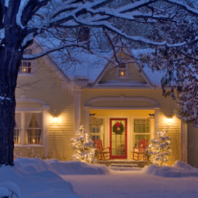 Christmas Home. Grand Isle, Vermont by George Robinson (robophoto)) on 500px.com