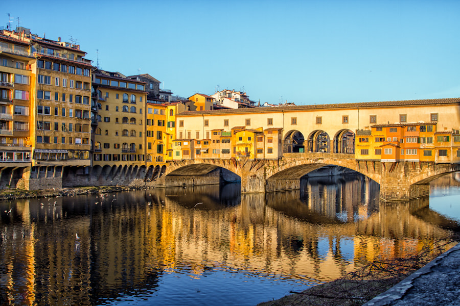 Photograph Another Morning from the Ponte Vecchio by David Edenfield on 500px
