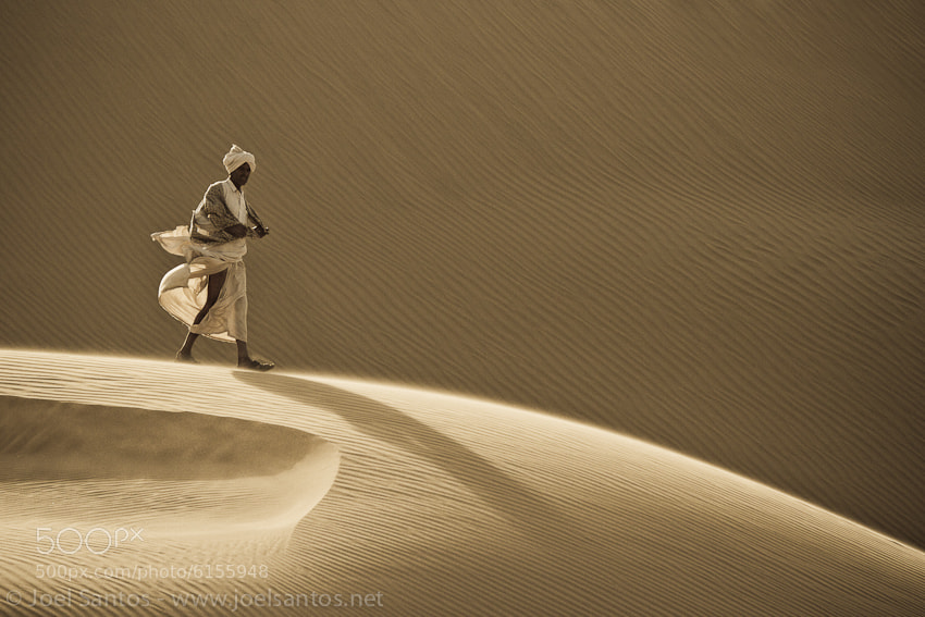 Photograph Desert Wanderer by Joel Santos on 500px