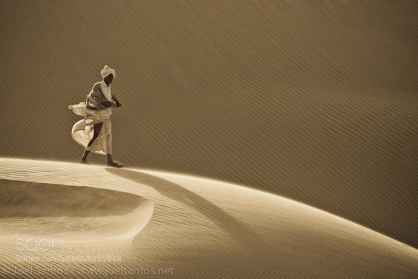 Photograph Desert Wanderer by Joel Santos on 500px