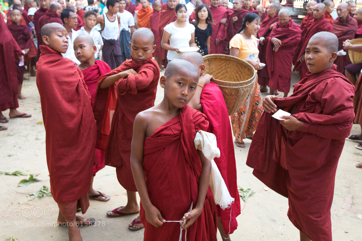 Photograph Young Monks by Stephen Bures on 500px