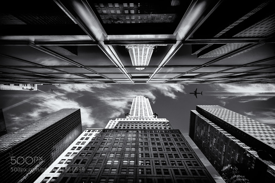 Photograph Chrysler Building II by pixeldreamer  on 500px