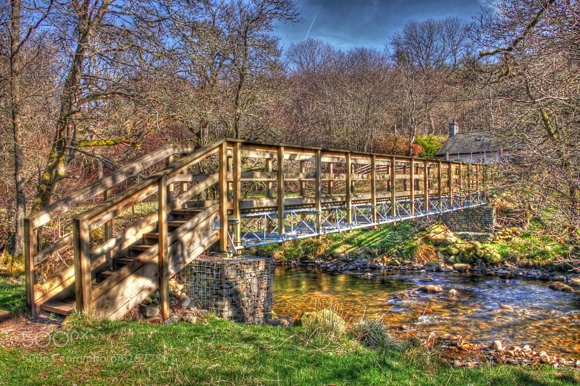 Photograph bridge in glen prosen by Hilda Murray on 500px
