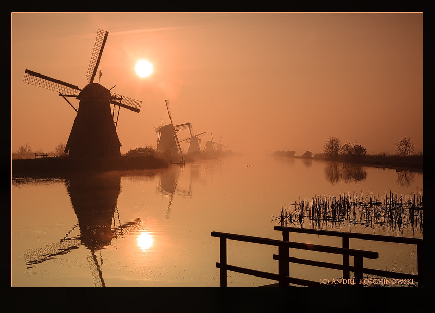 Photograph Sunrise at Kinderdijk by Andre Koschinowski on 500px