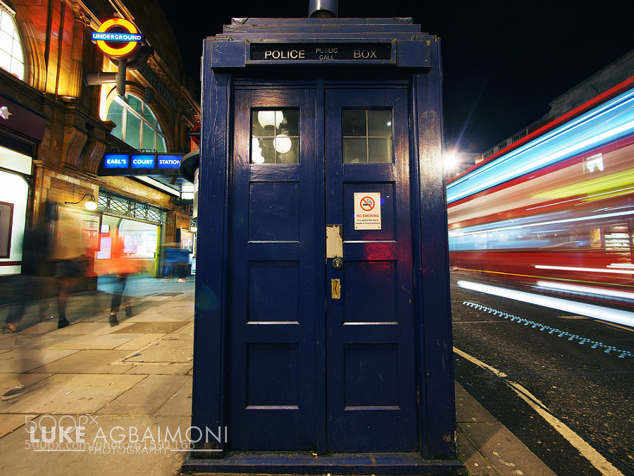 Photograph The Tardis - Earls Court Station - London by Luke Agbaimoni on 500px