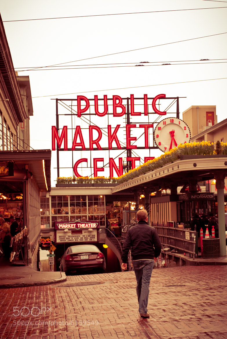 Photograph Pike Place Market by Ana Higareda on 500px