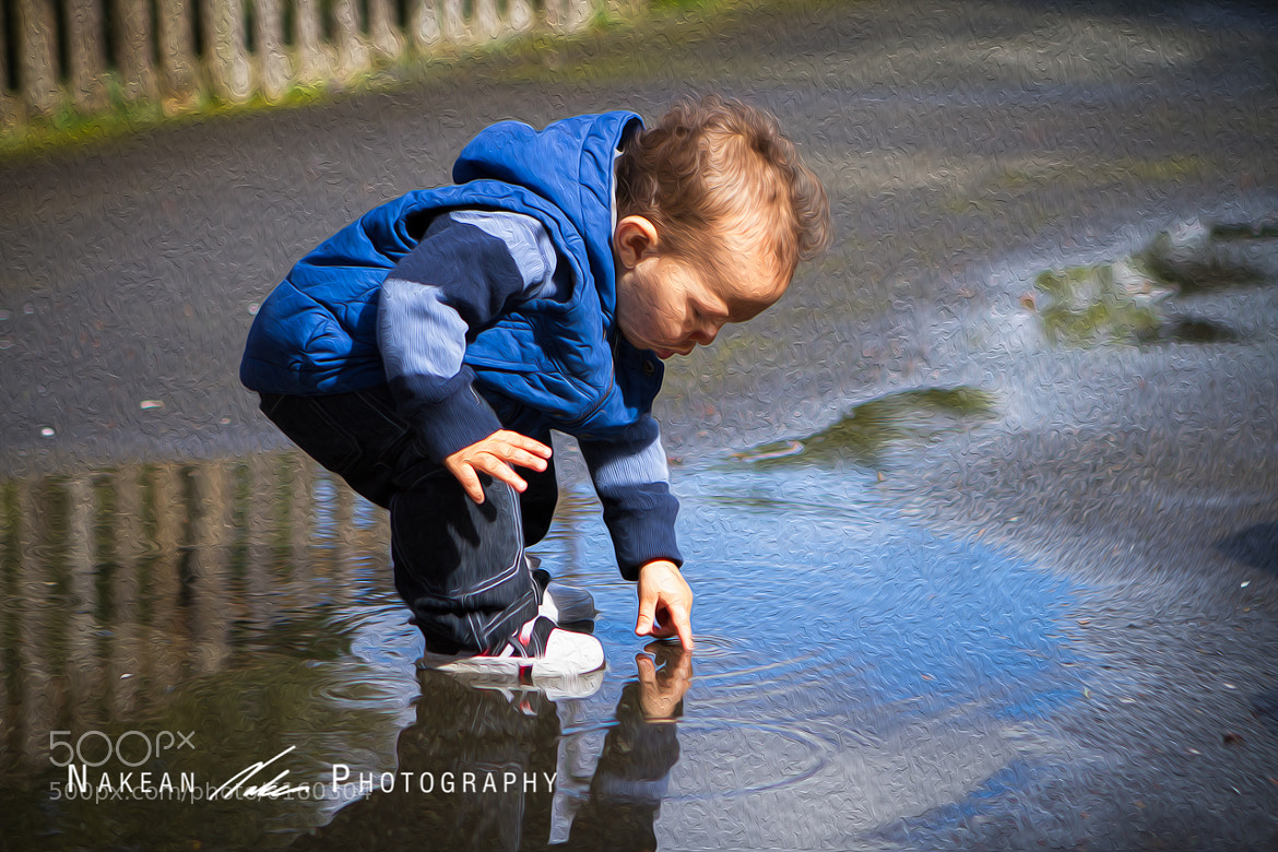 Photograph Painting Puddles by Nakean Wickliff on 500px