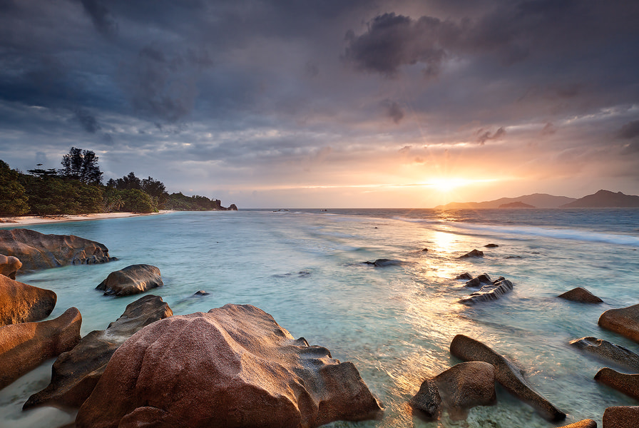 Photograph La Digue Sunset by Michael  Breitung on 500px