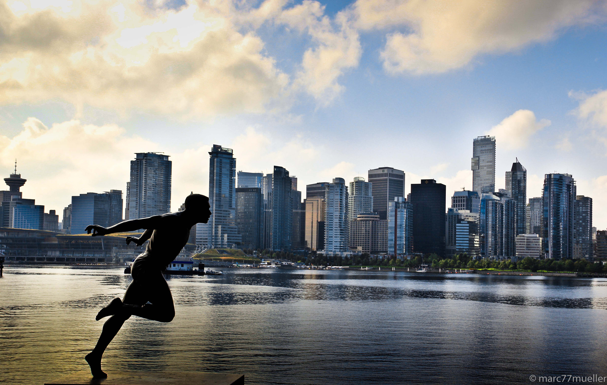 Photograph Vancouver Skyline by Marc Mueller on 500px