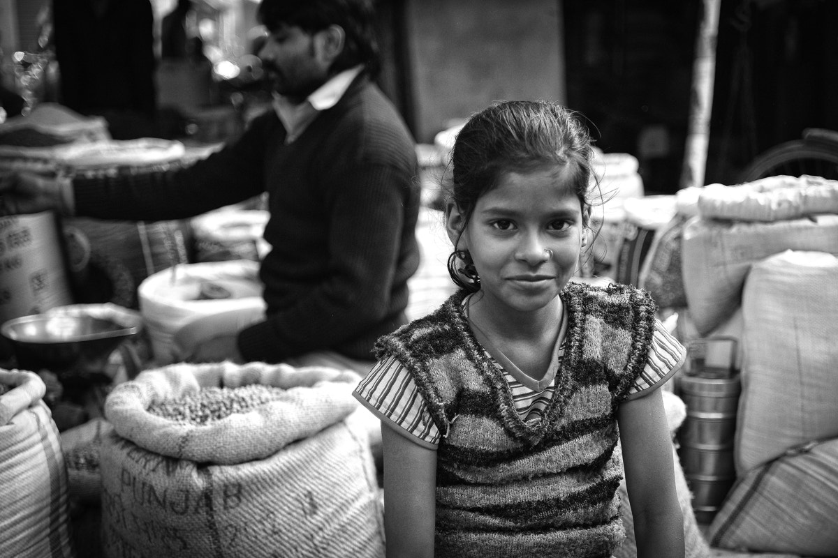 Photograph A young shop keeper in Uttar Pradesh by Sebastien Bey-Haut on 500px