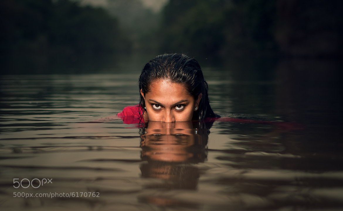 Photograph Girl in water by meetvabby on 500px