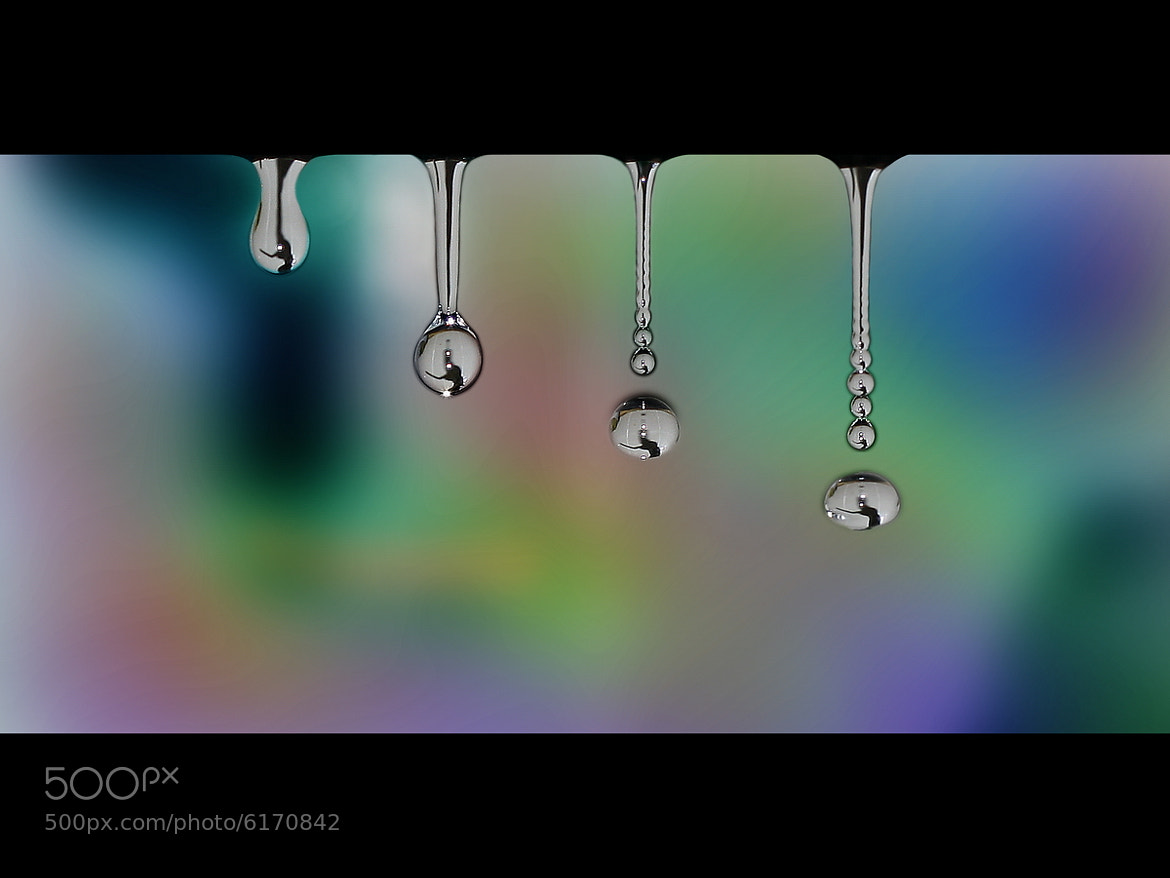 Photograph Colorful Drops by Joe Ruhupatty on 500px