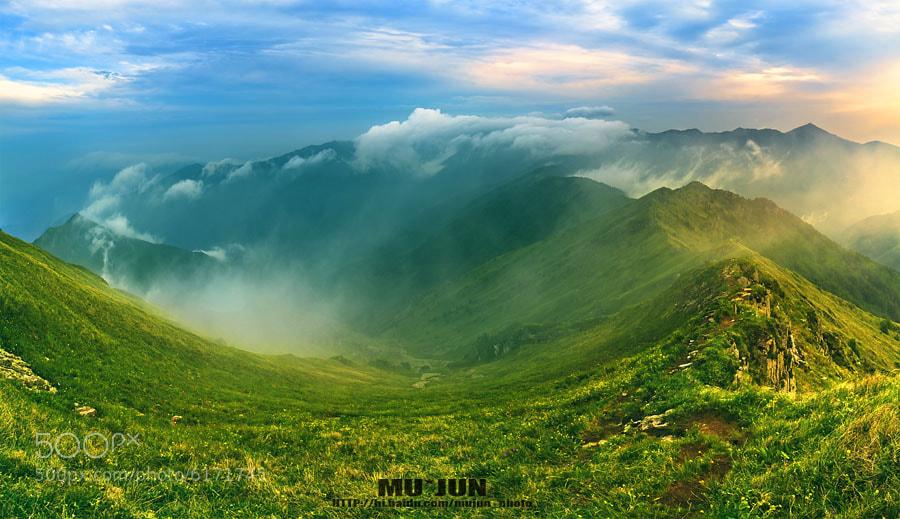 Photograph mountain by JUN MU on 500px