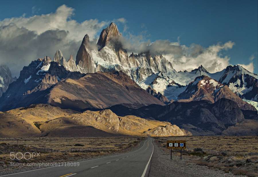 Photograph the road to Fitz Roy by marion faria on 500px
