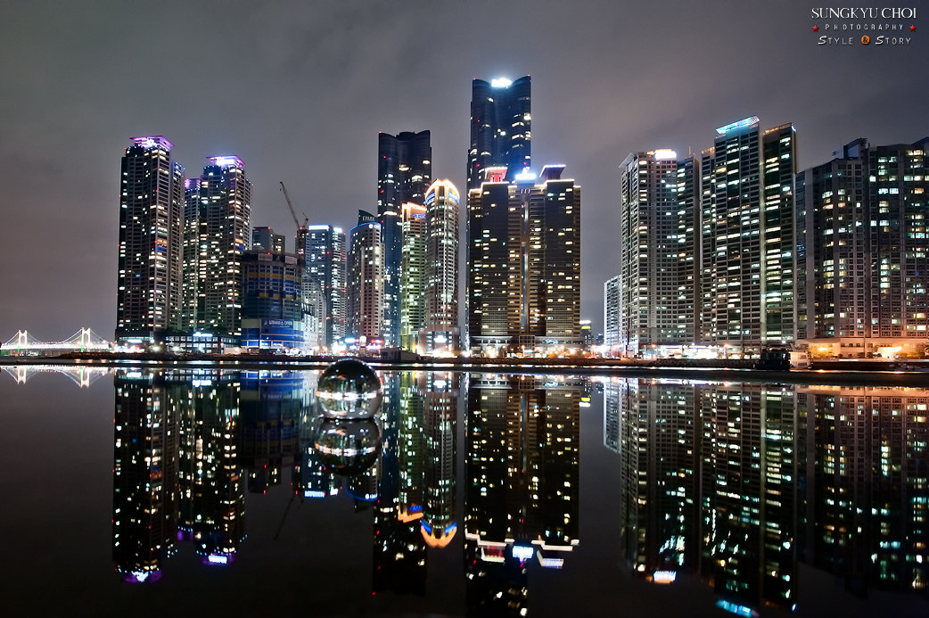 Photograph Skyscrapers reflected in Busan by sungkyu Choi on 500px