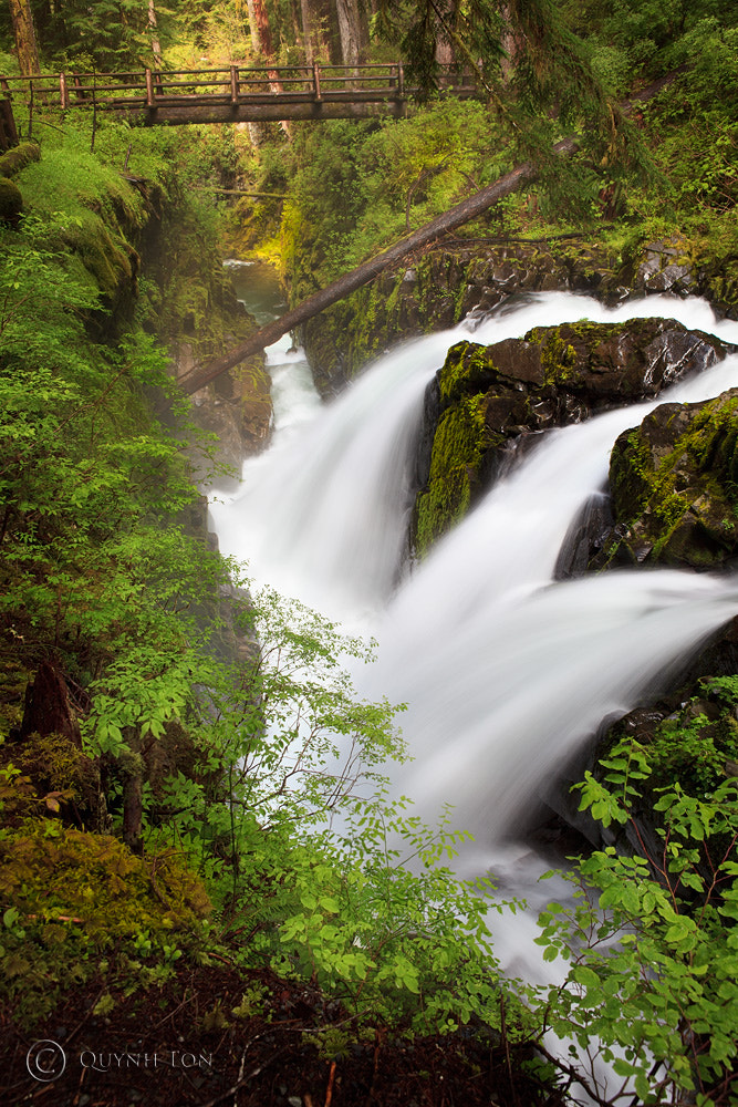 Photograph Sol Duc Falls by Quynh Ton on 500px